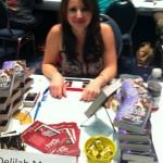 Book promotion Delilah Marvelle style