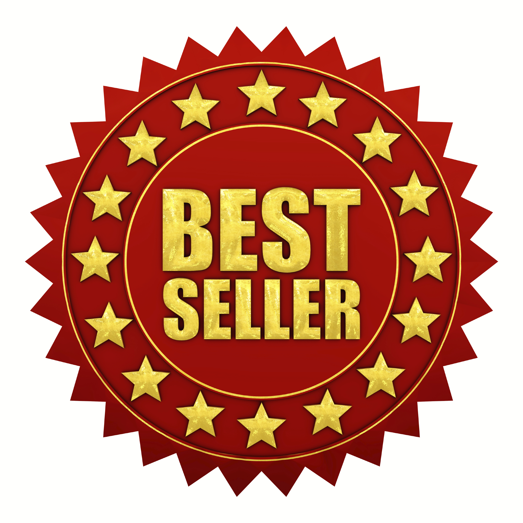 Best Seller Book Logo